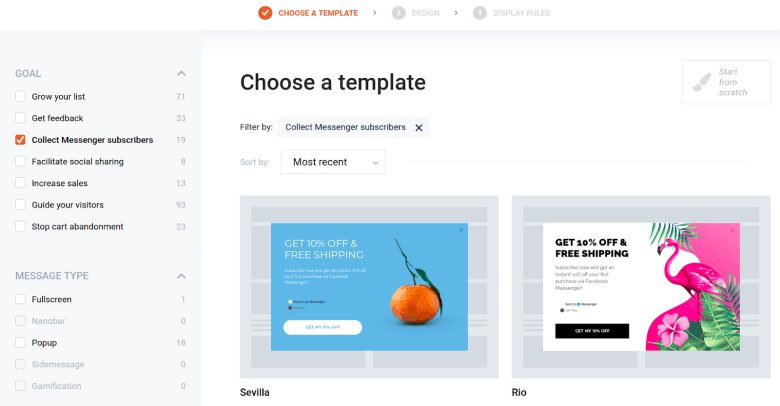 optimonk template library