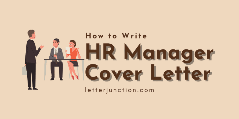 how to write hr manager cover letter