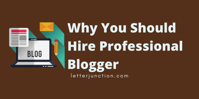 hire professional blogger