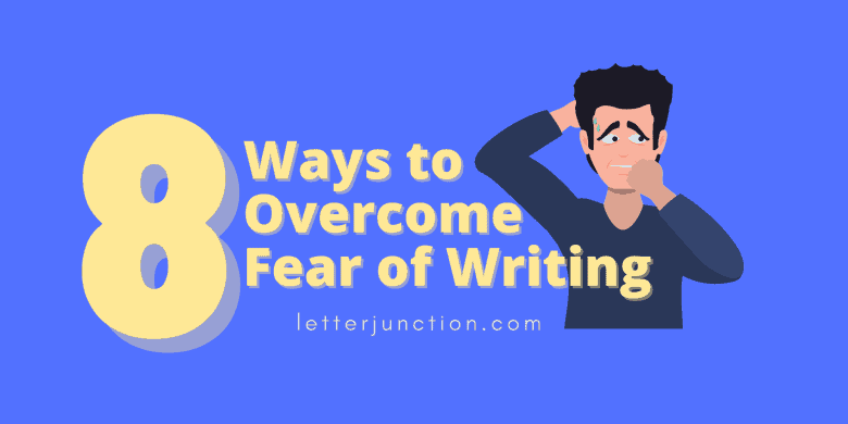 overcome fear of writing
