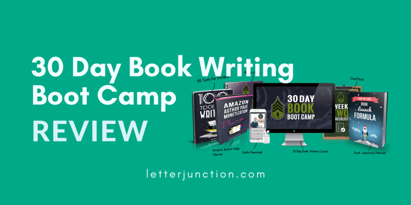 30 day book writing boot camp review
