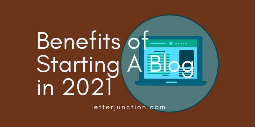 benefits of starting a blog