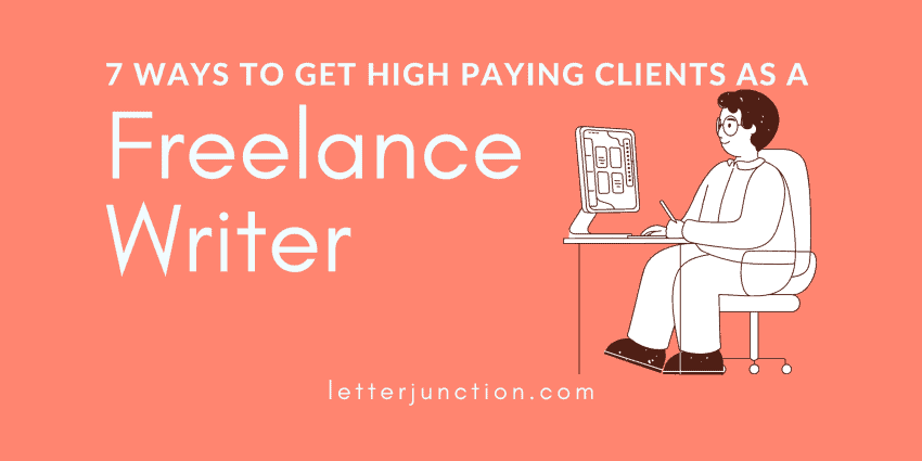 how to get clients as a freelamce writer