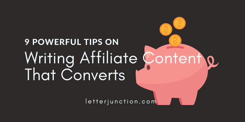 writing affiliate content that converts