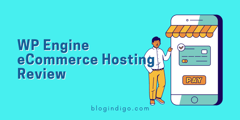 wp engine ecommerce hosting review featured image