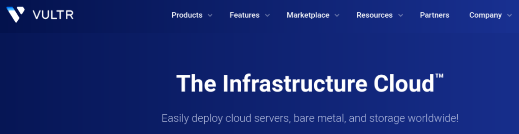 vultr provides the best infrastructure for Java hosting in India