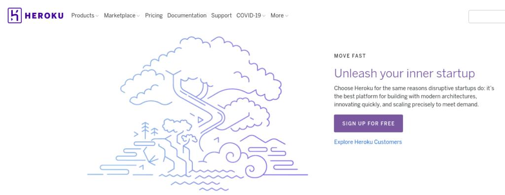Heroku is a PaaS platform for Django hosting services