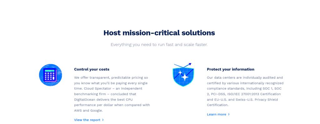 DigitalOcean provides django hosting