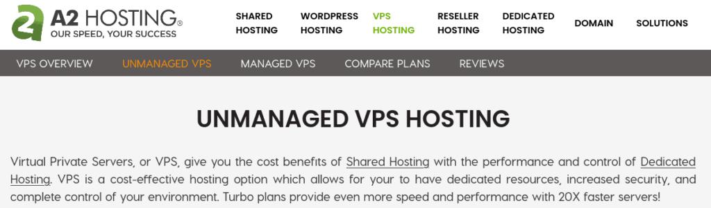 a2hosting vps for django web apps