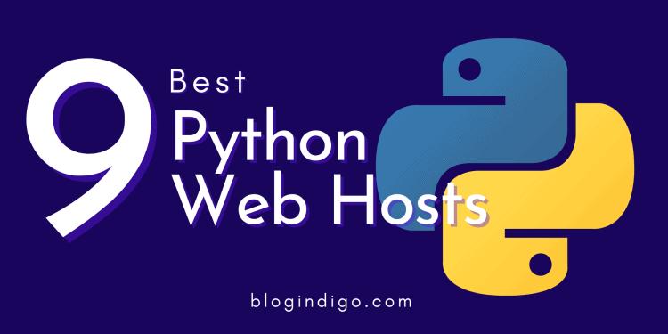 best python web hosts